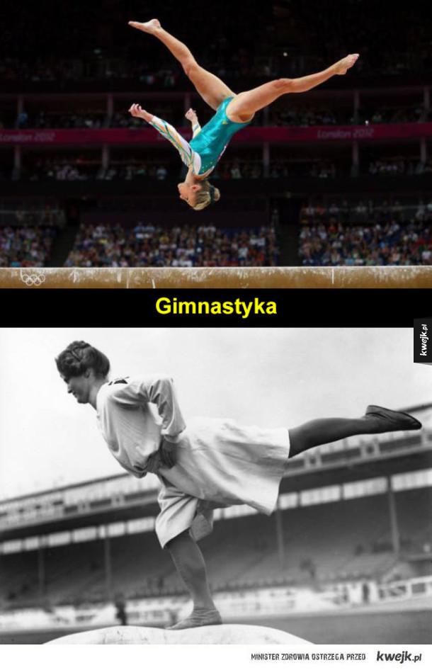 Igrzyska Olimpijskie kiedyś i dziś