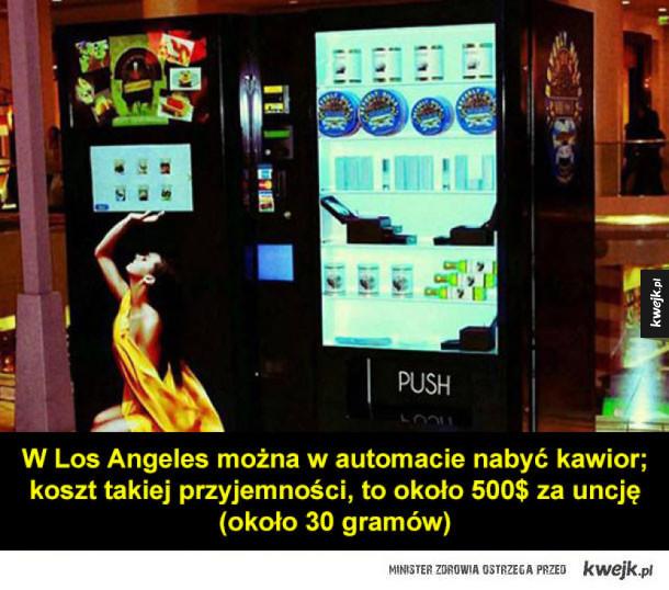 Ciekawe automaty z całego świata