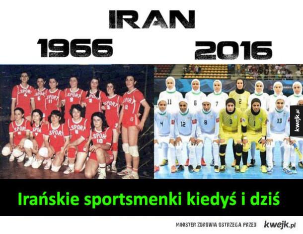 Irańskie sportsmenki