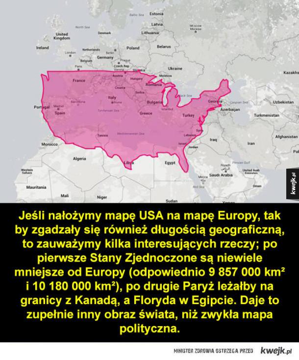 Prawdziwa wielkość państw na mapie