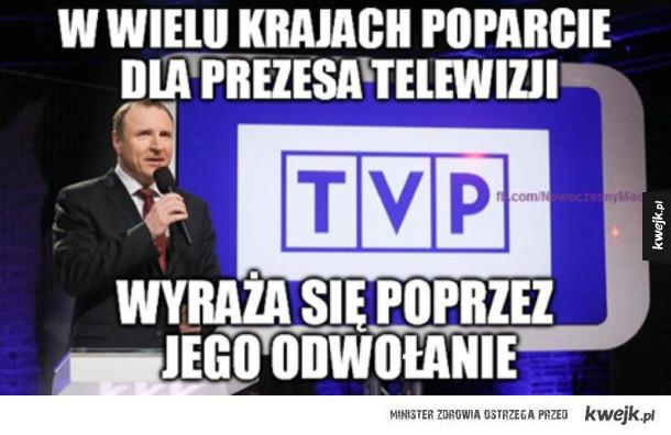 Kurski zwolniony z TVP. Internet odpowiada! - Panie prezesie przynajmniej do października