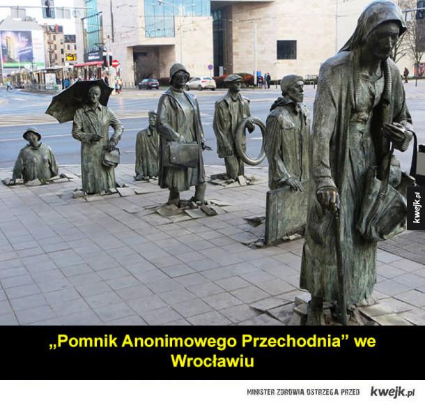 Ciekawe, oryginalne rzeźby z całego świata