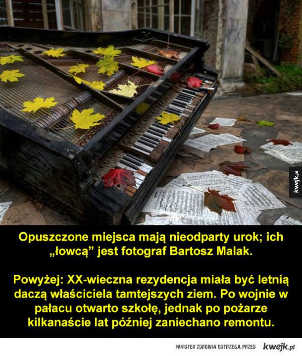 Niesamowite, opuszczone miejsca w Polsce