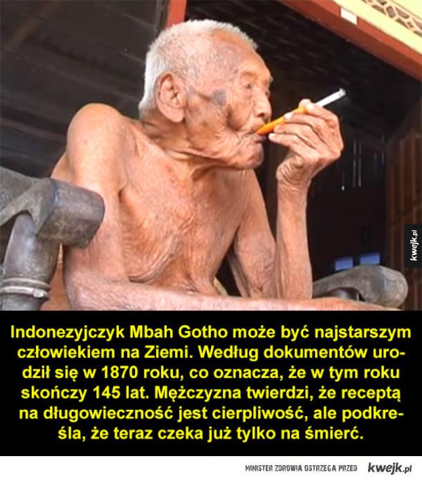 Najstarszy człowiek na Ziemi