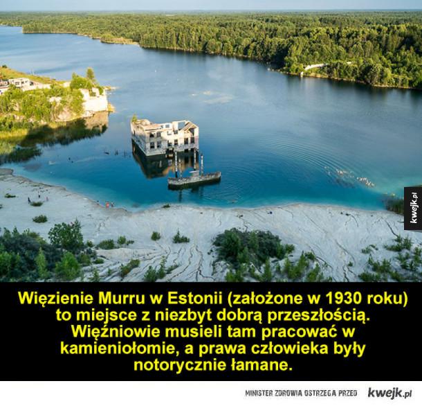 Interesujące i niebezpieczne miejsce w Estonii