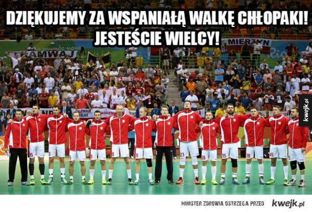 Czwarte miejsce Polskich piłkarzy ręcznych w Rio