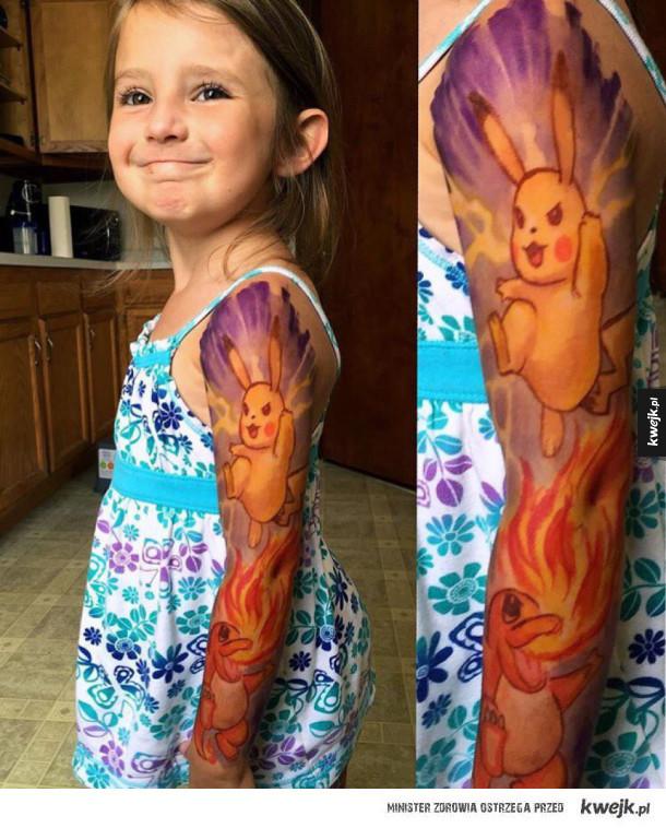 Taki tatuaż :D