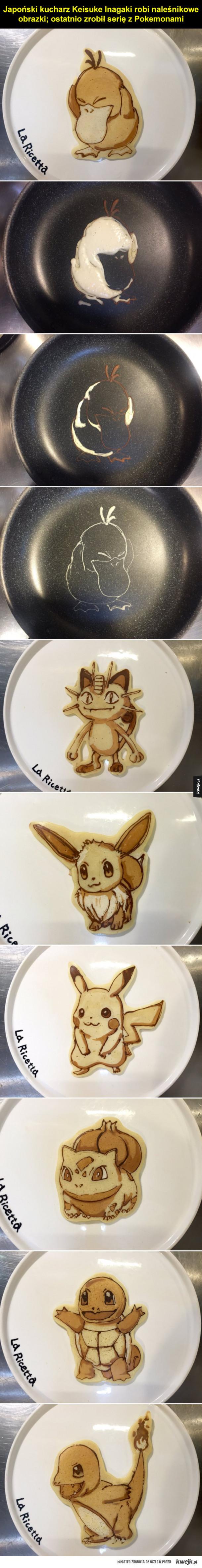Pokemonowe naleśniki