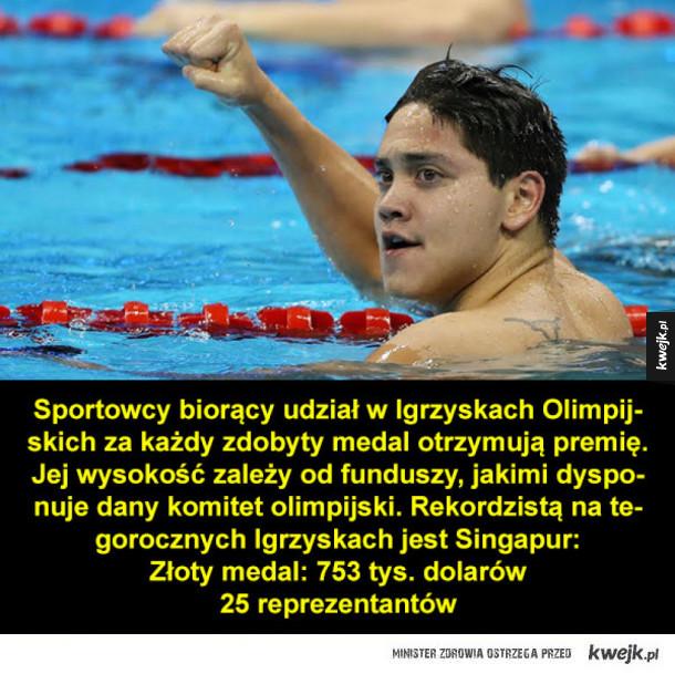 Ile wart jest złoty medal?