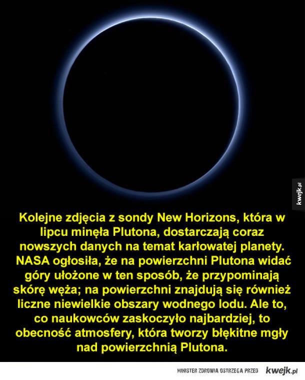 Nowie wieści z Plutona