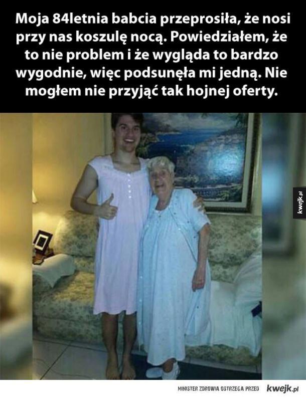 kocham babcię