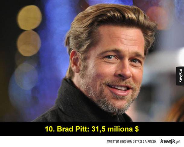 Najlepiej zarabiający aktorzy świata