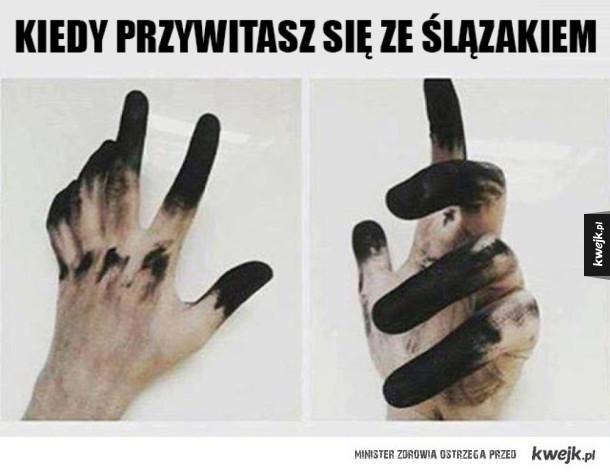Czarne dłonie