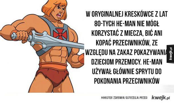 Czego używał He-Man i inne ciekawostki na dziś