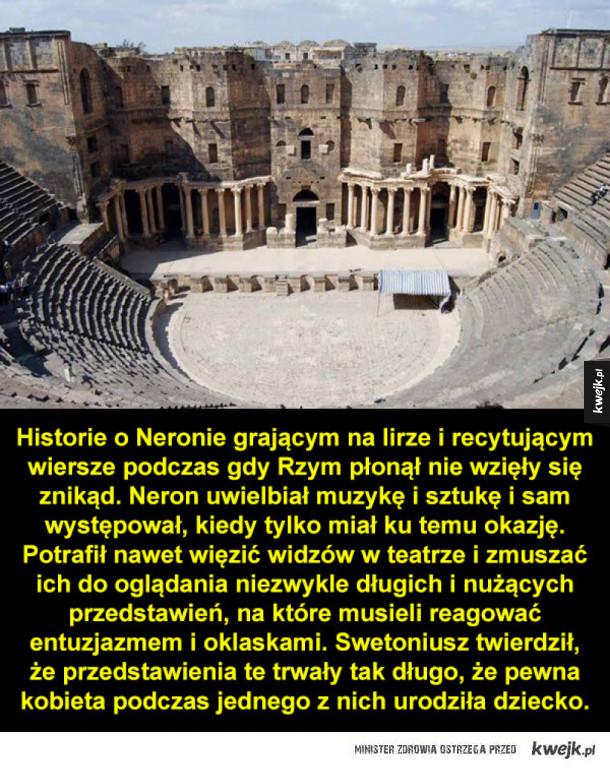 Kilka faktów o Neronie