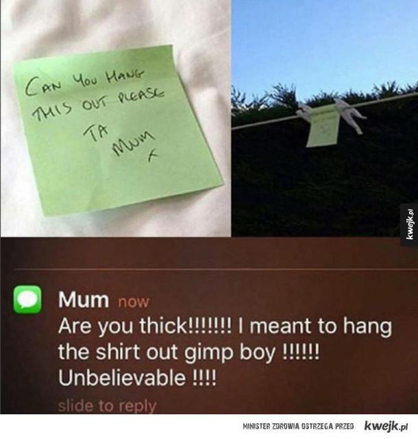 rób co mama każe