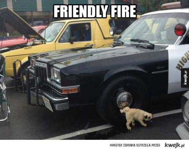 Włączony friendly fire