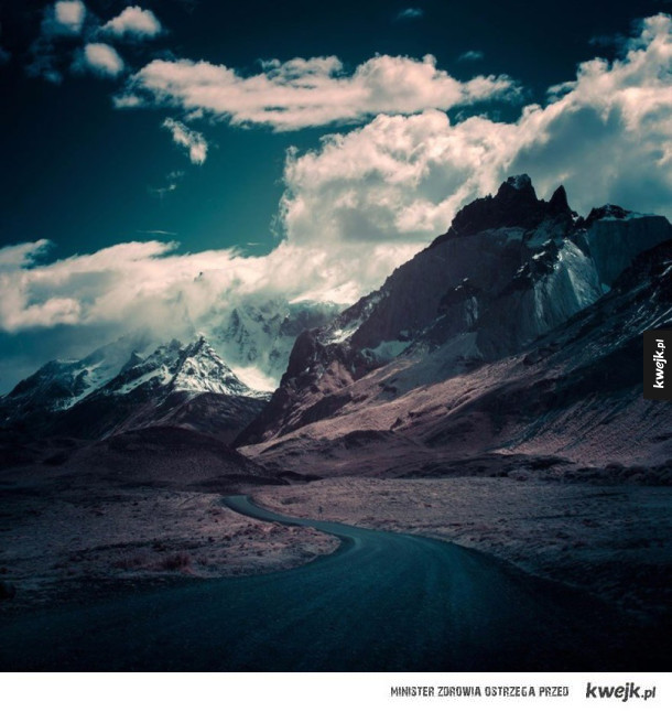 Patagonia na fotografiach Andy'ego Lee