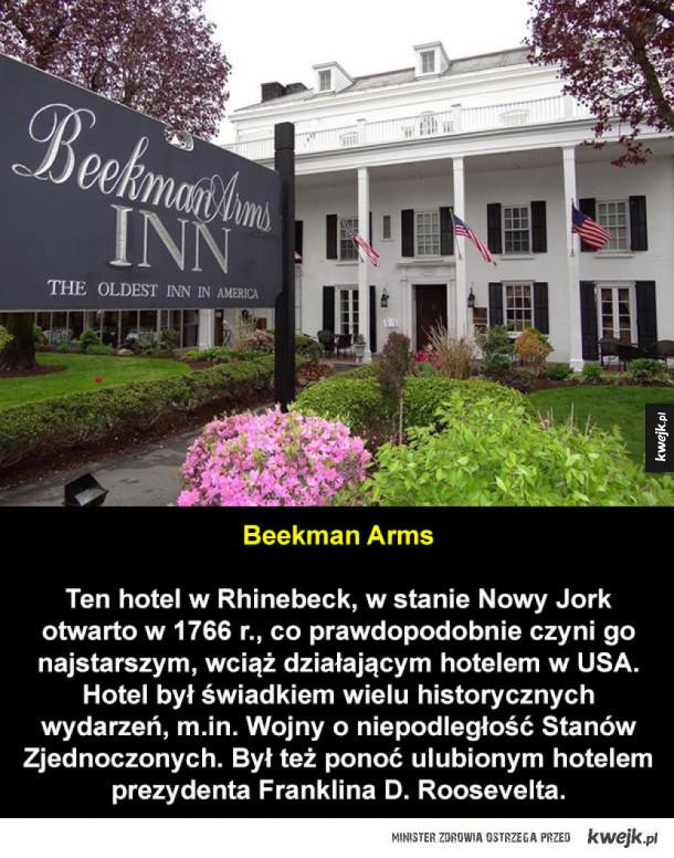 Stare hotele, w których wciąż można się zatrzymać