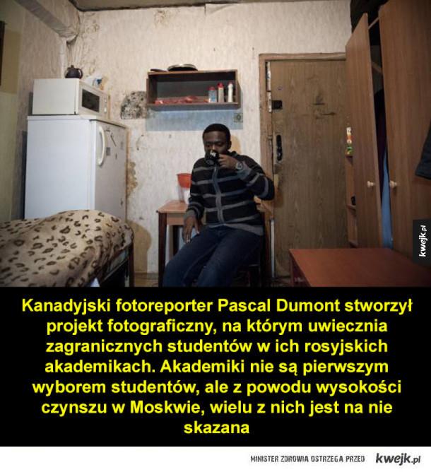 Życie w rosyjskich akademikach