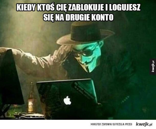 Jestem anonimowy