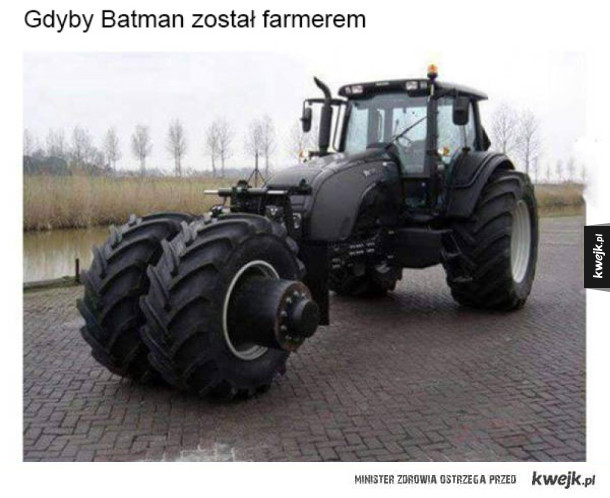 Gdyby Batman urodził się na Polskiej wsi!