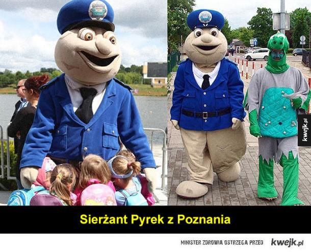 Najgorsze policyjne maskotki, wprost z dziecięcych koszmarów