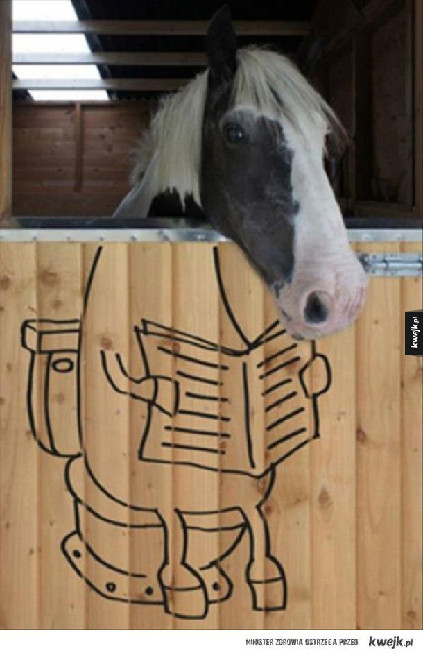 koń na... biegunach