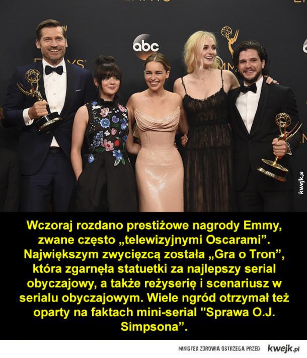 68. rozdanie nagród Emmy