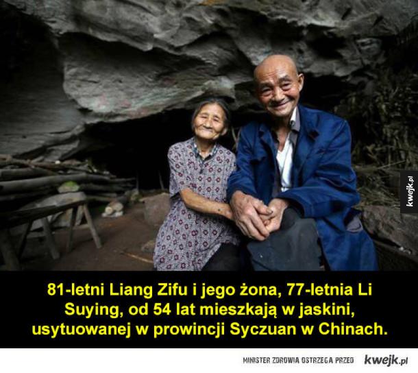 Nietypowe mieszkanie chińskiej pary staruszków