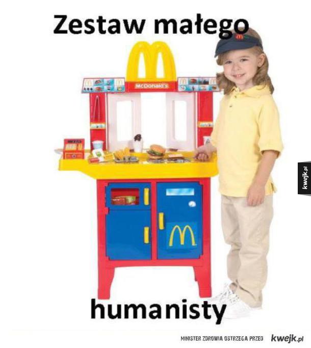 Zestaw humanisty