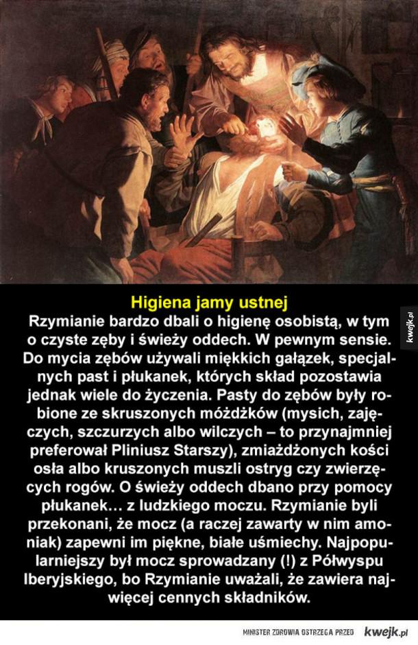 Starożytni Rzymianie mieli ciężkie życie