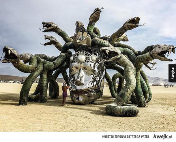 Instalacje z festiwalu Burning Man