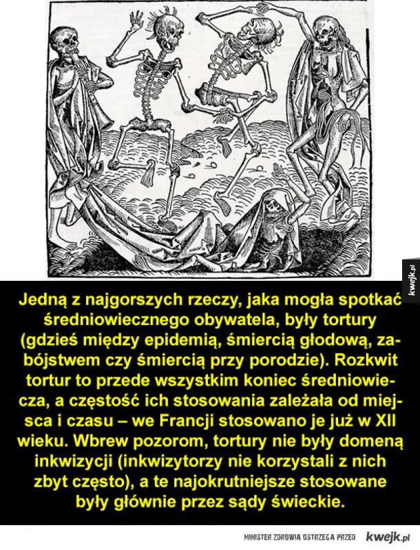 Średniowieczne tortury i kary śmierci