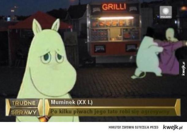 Biedny Muminek