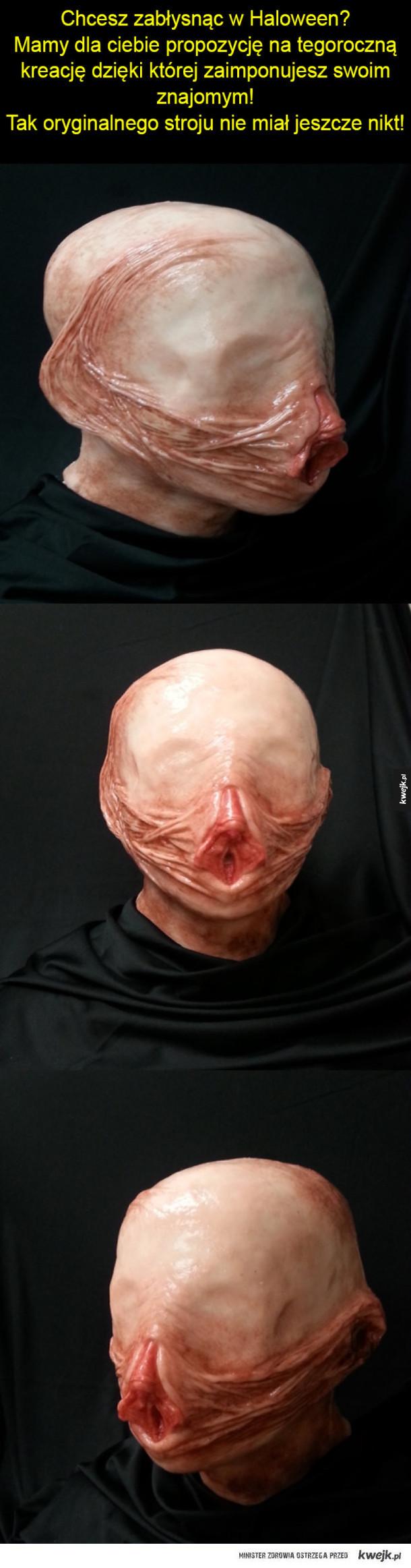 Najlepsza maska na Halloween!