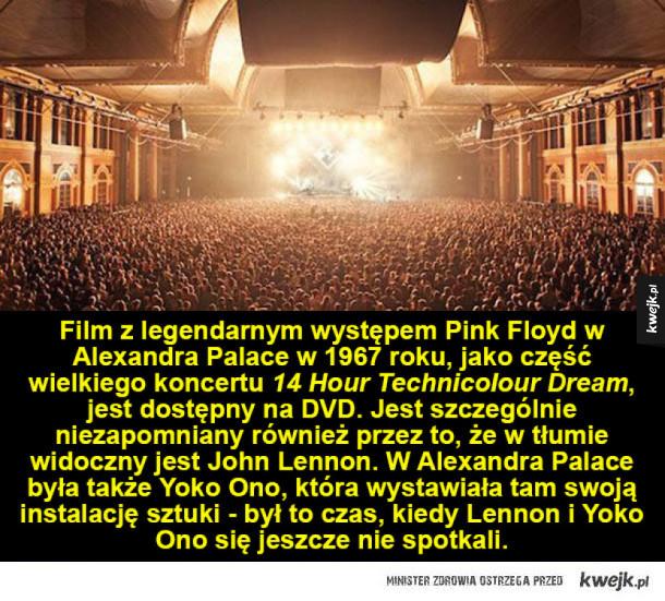 Ciekawostki o zespole Pink Floyd