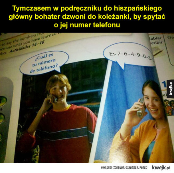 Dziwne rzeczy znalezione w podręcznikach