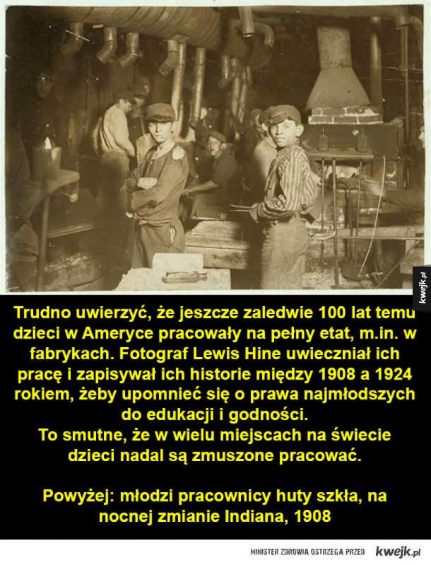 Pracujące dzieci z początku XX wieku
