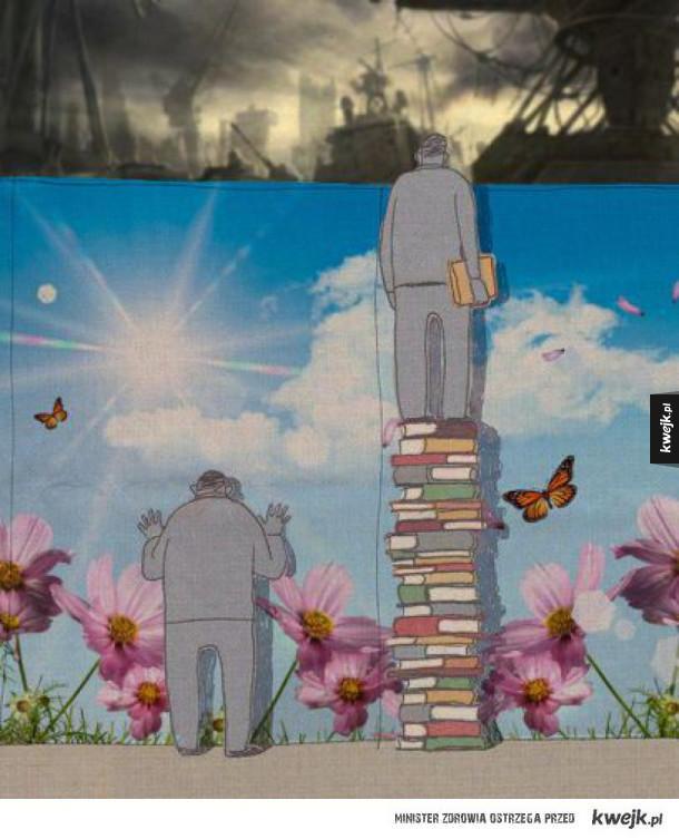 Książki poszerzają perspektywę