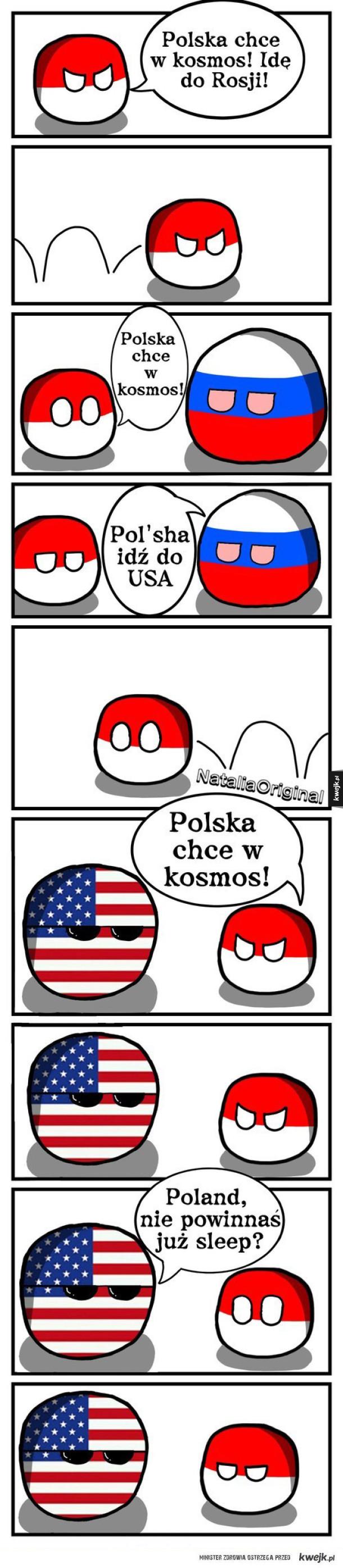 Dlatego Polska jeszcze nie była w kosmosie