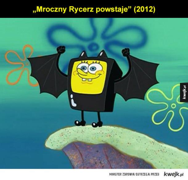 Spongebob jako znane filmy i seriale