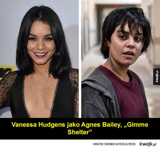 Aktorki, które przeszły transformację do roli
