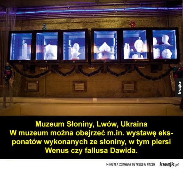 Najdziwniejsze muzea z całego świata