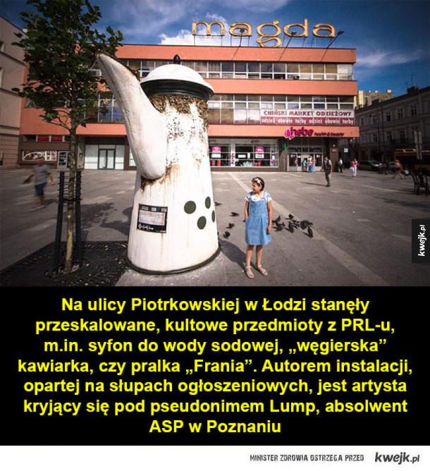 Artystyczne instalacje inspirowane PRL-em
