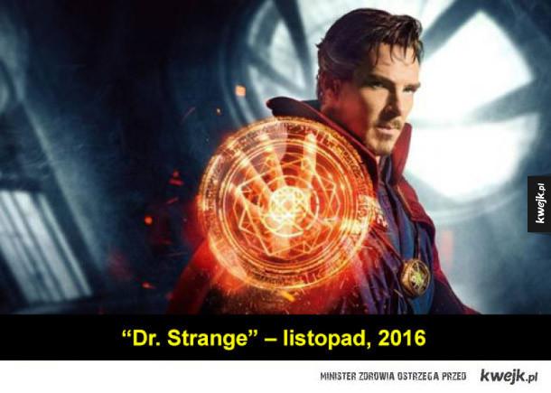 Filmy o superbohaterach, które ukażą się w najbliższych latach