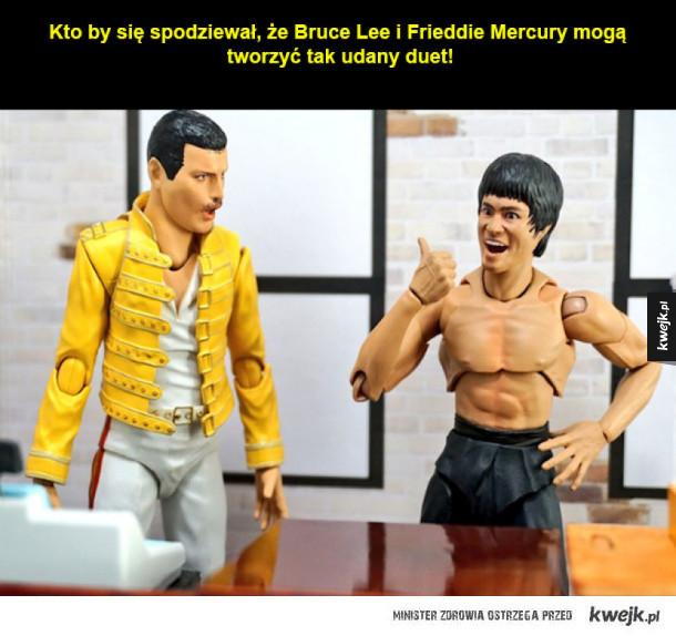 Wspólne życie Bruce'a Lee i Freddi'ego Mercury!