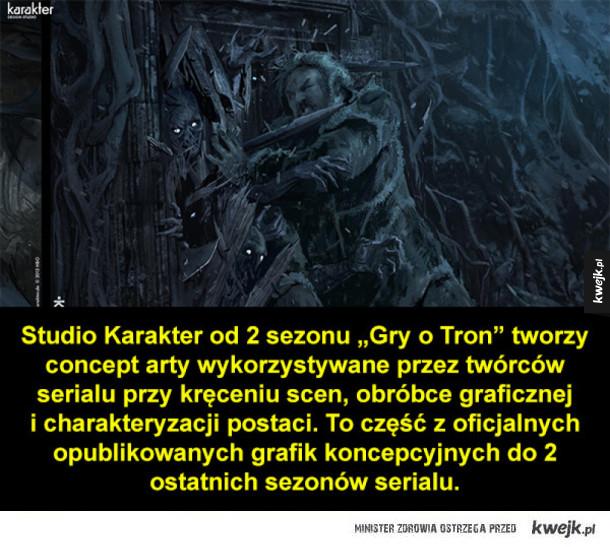 Grafiki koncepcyjne do 5 i 6 sezonu Gry o Tron