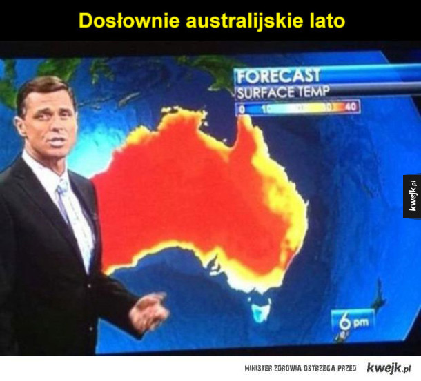 australijskie lato