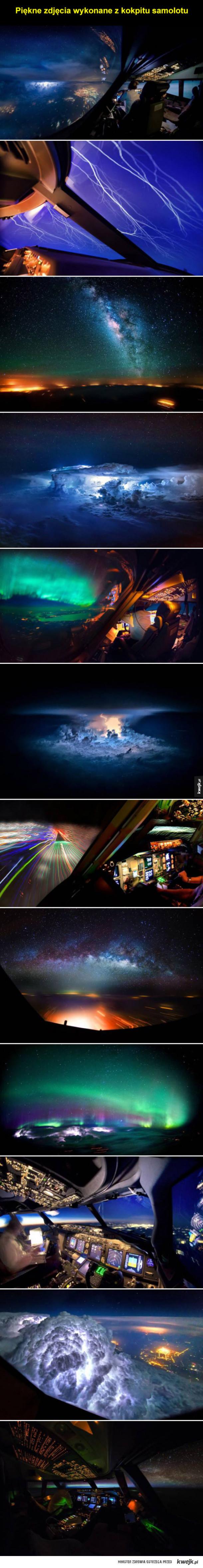Świat z perspektywy pilota